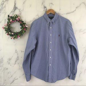 Ralph Lauren Gingham Classic Fit Dress Shirt